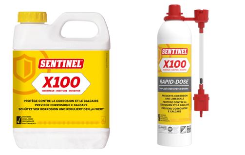 SENTINEL X100 inibitore per impianti di riscaldamento