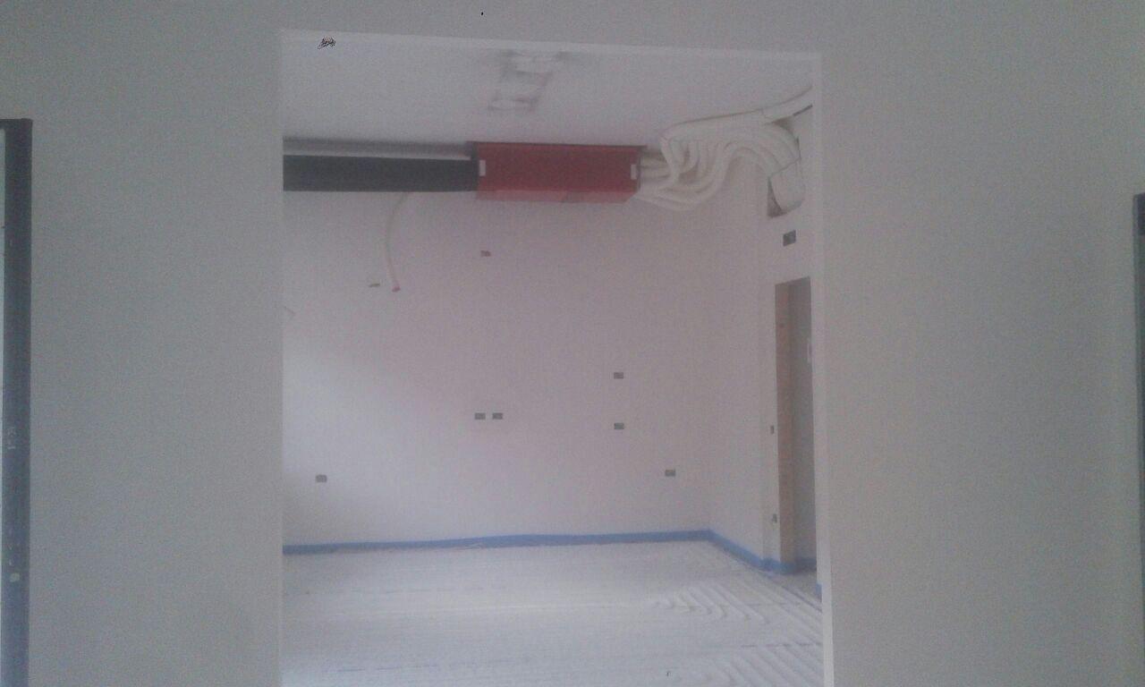 Impianto radiante klett Uponor e Vmc Hoval ad Avellino