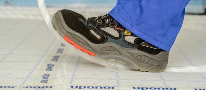 Uponor Klett: riscaldamento e raffrescamento radiante a pavimento